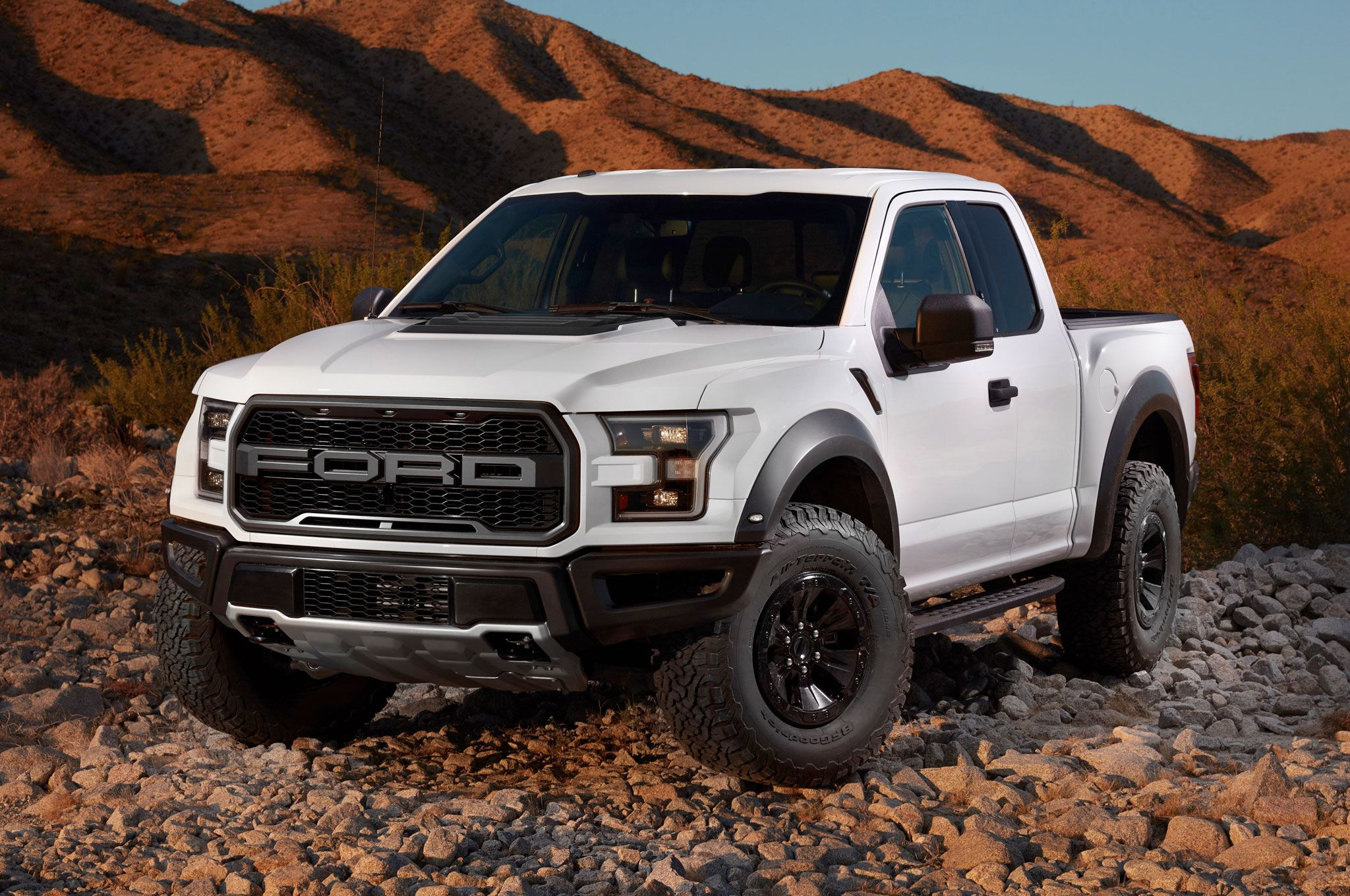 2017 Ford F 150 Raptor Supercab Front Angle 51st State Autos