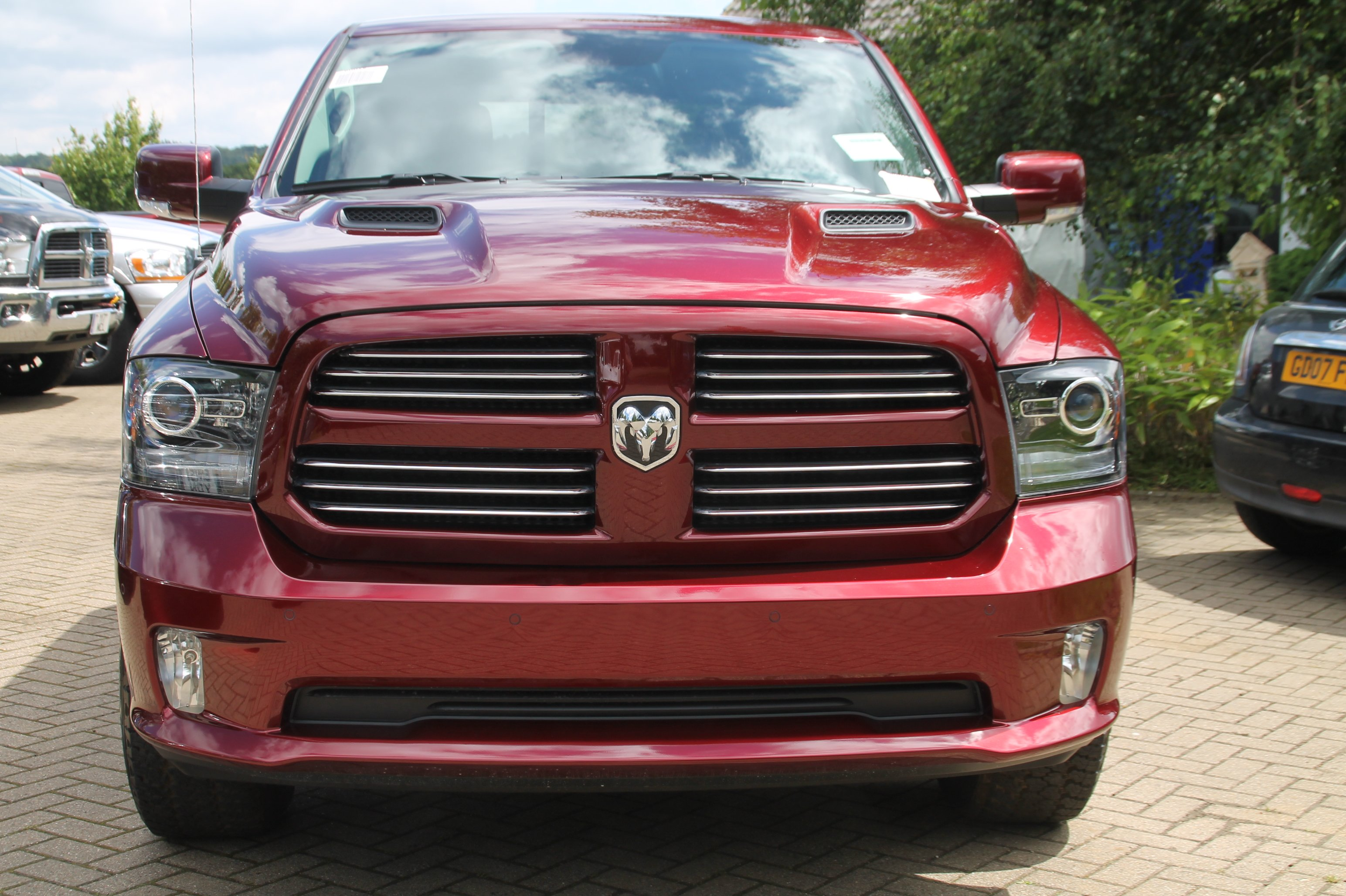2016 dodge ram 1500 crew cab sport in delmonico red. Black Bedroom Furniture Sets. Home Design Ideas