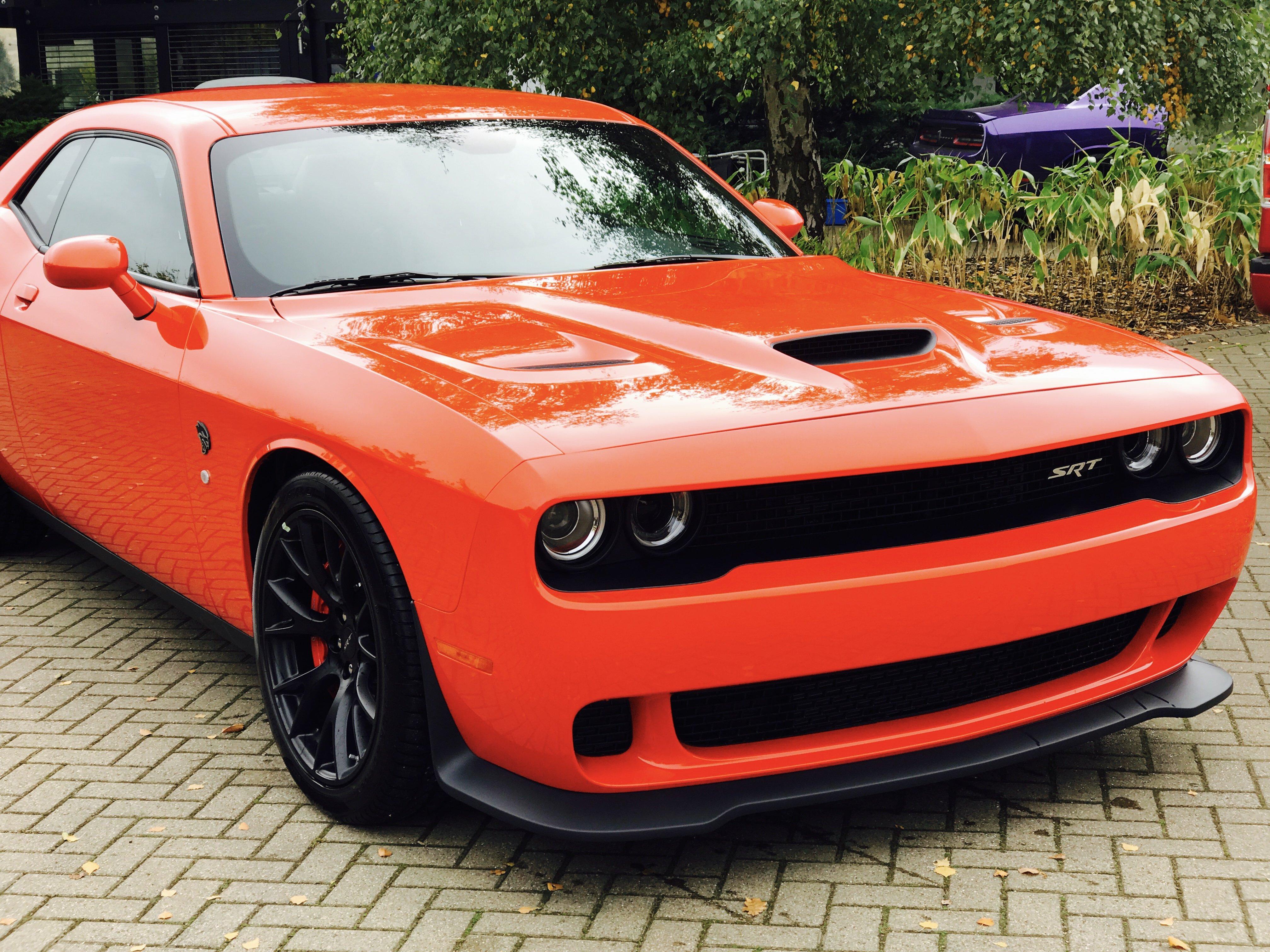 2017 Dodge Challenger Hellcat Go Mango 51st State Autos