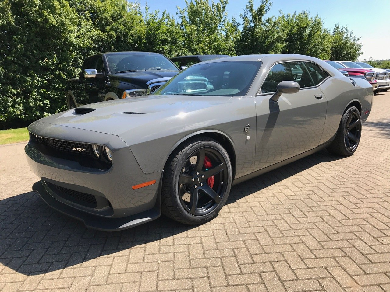 2017 Dodge Challenger Hellcat Destroyer Grey 51st